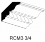 "CA-D Accessories:3-3/4""X8 'Crown Molding ROPE"""