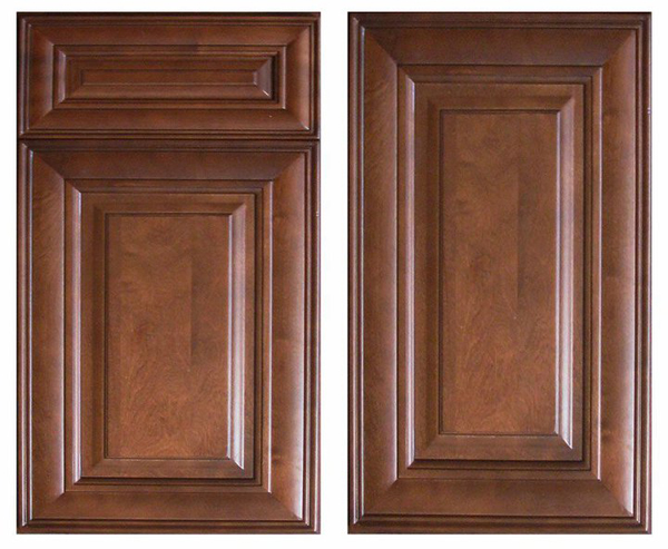 Chocolate Glaze Cabinets