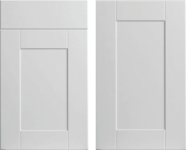 White Shaker Bathroom Vanity Cabinets