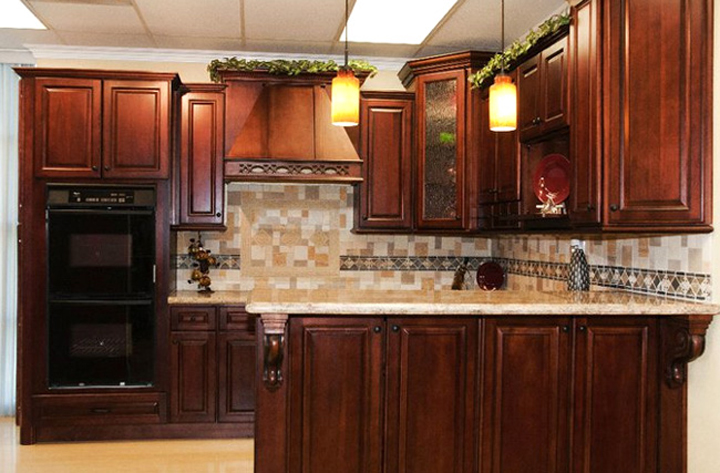 Cherry Antique Cabinets - Cherry Antique Cabinets - AAA Home Design, Southern California's