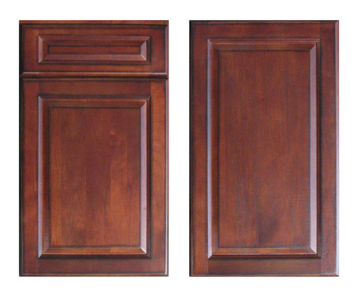 Cherry Antique Cabinet Accessories